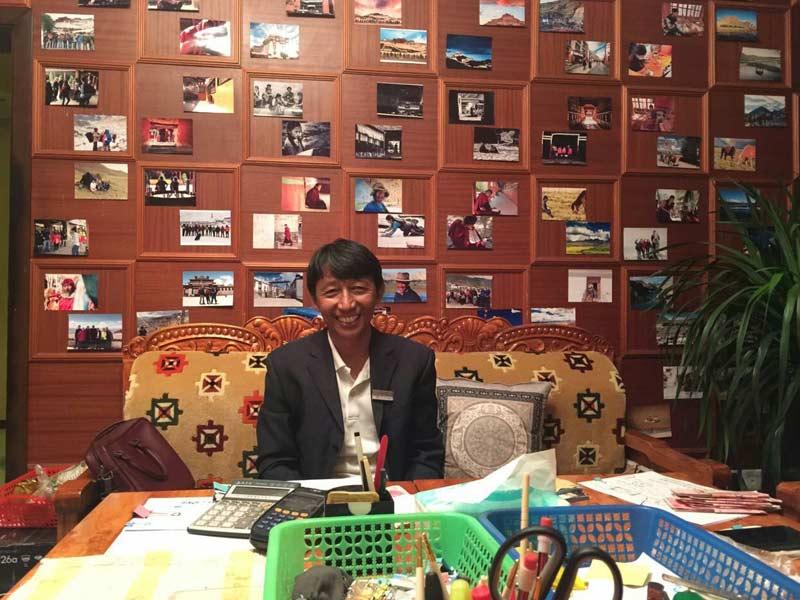 The first English-speaking Tibetan tour guide