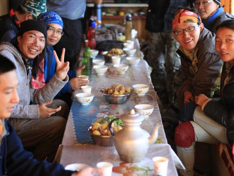 Tibetan foods
