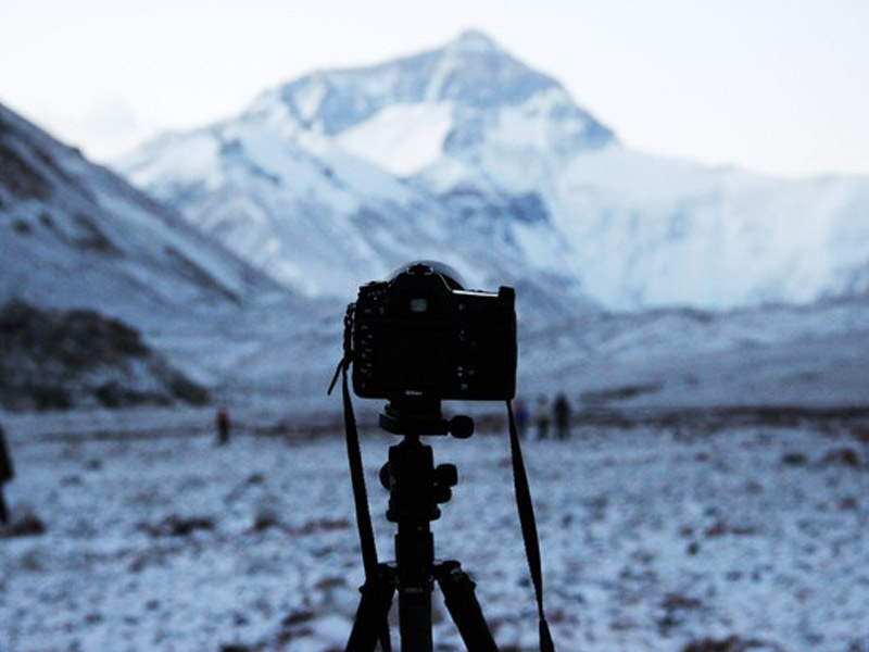 Gears for Mount Everest Photography