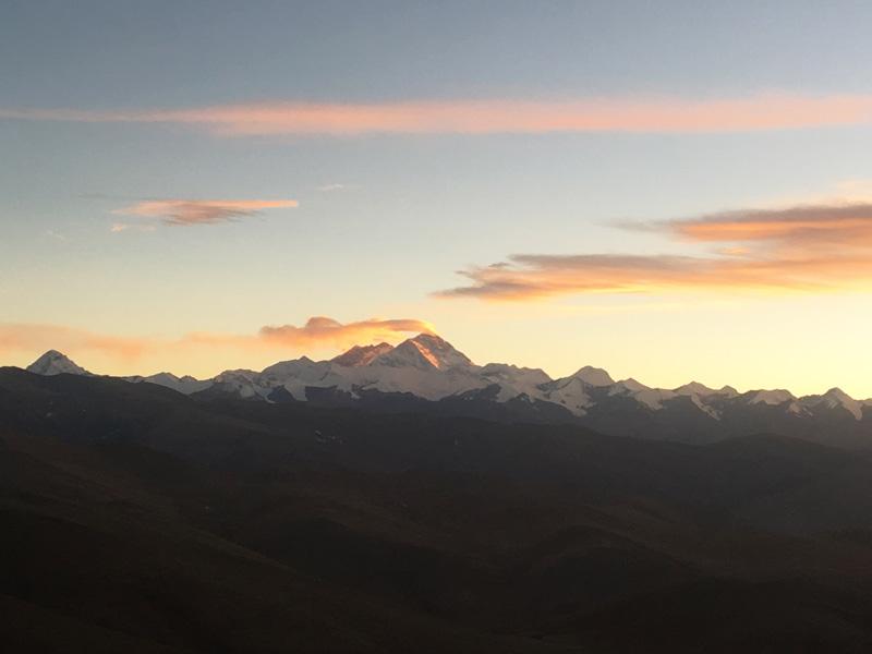 Mount Everest Flag Clouds.