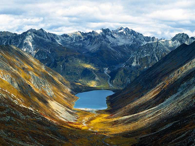 Lhamo La-tso Lake