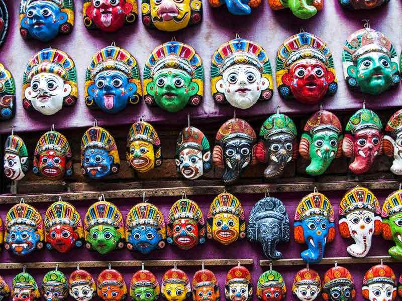 Nepail Masks