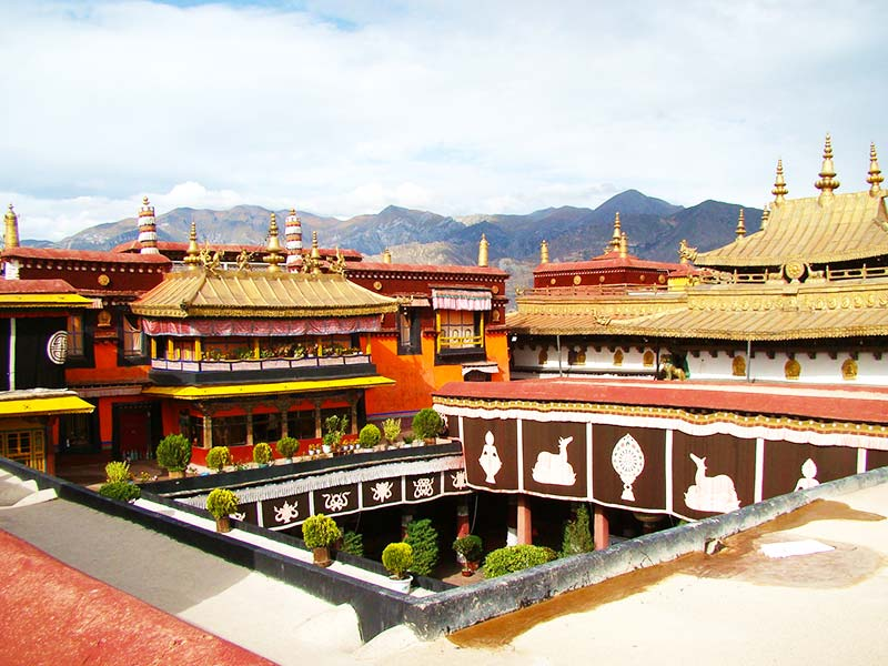 Jokhang Temple is the spiritual centre of Tibet