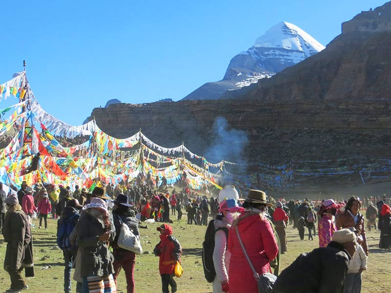 how to get to tibet from nepal