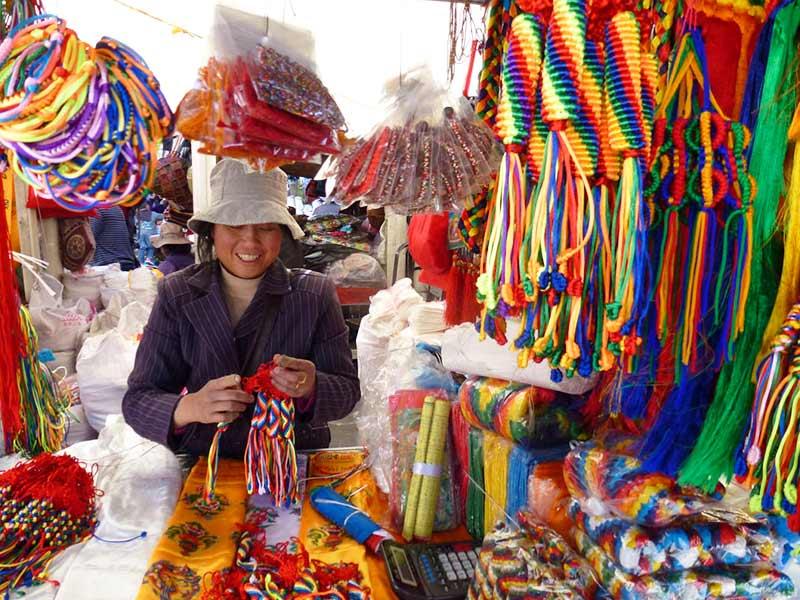 Tromzikhang Market