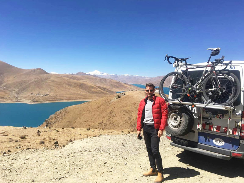 Cycling from Lhasa to EBC