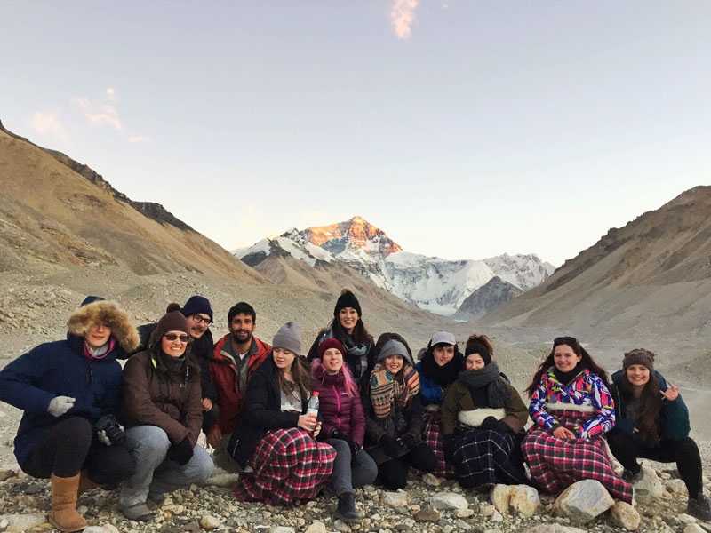 Everest Base Camp in March