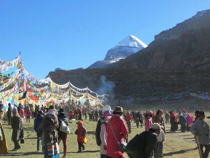 Saga Dewa Festival at Mount Kailash