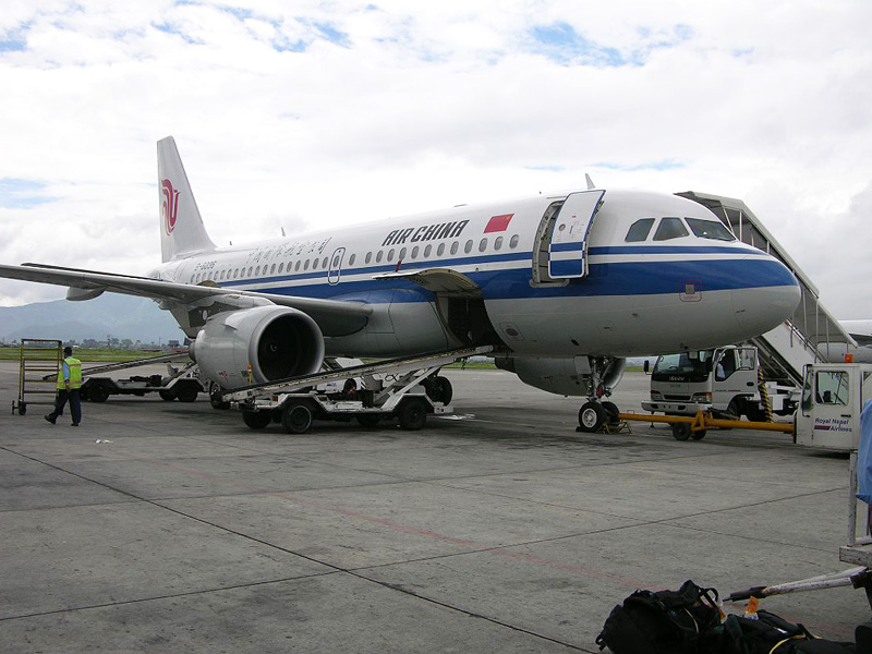 Nepal to Tibet by flight
