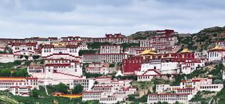 Three Major Monasteries in Lhasa