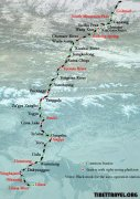 Qinghai Tibet Railway Map - Find Your Most Suitable Train Journey to Tibet