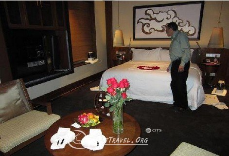 room of St. Regis hotel in lhasa