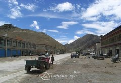 Darchen, a lonely village at the foot of Kailash