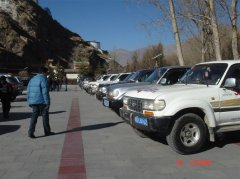 Toyota 4500 SUV quit the stage of Tibetan history
